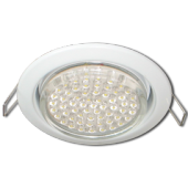 Ecola GX53 H4 Downlight without reflector_white (светильник) 38x106 - 10 pack (кd102)