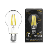 Лампа LED 12Вт Е27 2700К A60 Graphene Gauss Filament